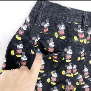 Disney Shorts - Disney Mickey mouse denim shorts